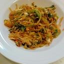 小松菜のケチャップ卵とじ☆