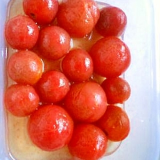 おやつ風 ミニトマトのマリネ
