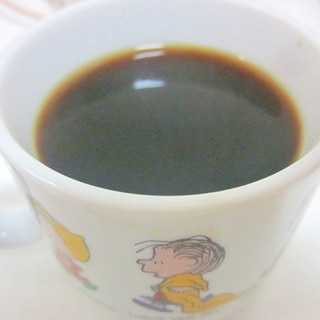 優しい甘さのメープルシロップコーヒー♪