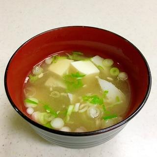 すり身の味噌汁(富山の郷土料理)