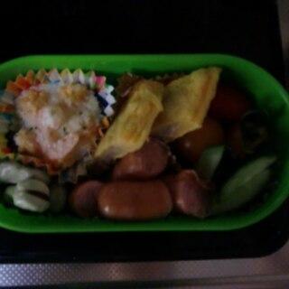 主菜と副菜の定番弁当