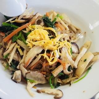 本格的!韓国料理の先生に教わったチャプチェ