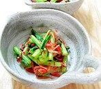 小松菜と桜えびのサッと炒め