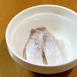 小鯛の笹漬け風酢魚、昆布風味♪