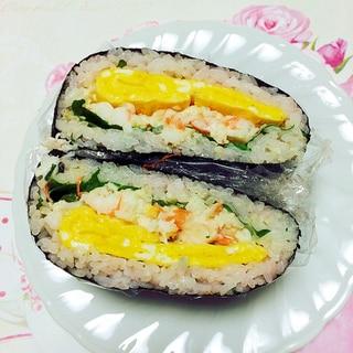 お花見弁当第二弾!おにぎらず寿司