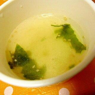 幼児食 春雨わかめスープ