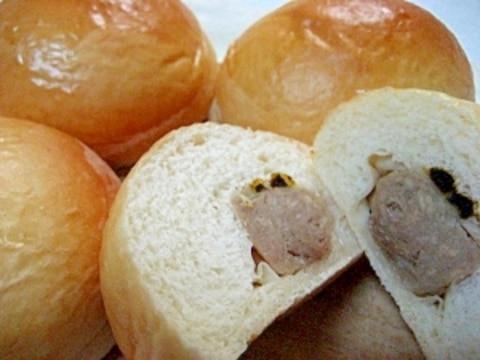 焼売パン カレー味