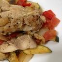 冷めても美味しい◎鶏胸と野菜の炒め物