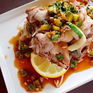 【やみつき】豚バラ肉とかさ増し野菜のさっぱり炒め