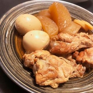 ☆やわらか美味しい☆大根と鶏手羽元の甘辛煮