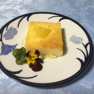 パイナップル入りチーズケーキ