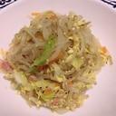 白滝の和風野菜炒め