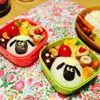 簡単にキャラ弁♡ひつじのショーン(o^^o)
