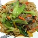 焼き肉のタレで!野菜炒め