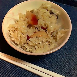 ホッキ貝の炊き込みごはん