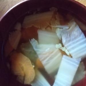 温まる(*^^*) 大根のコンソメスープ♪