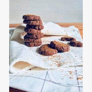 Oats cocoa cookies