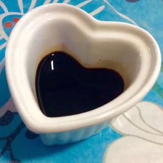 簡単☆ノンオイルバルサミコ酢ドレッシング