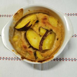 サツマイモのパウンドケーキ風
