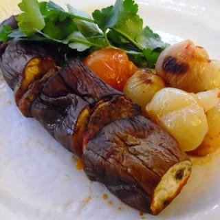 トルコ料理★オーブンで茄子のケバブ
