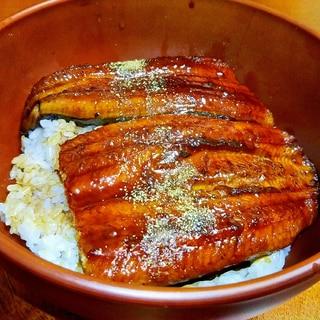 オーブントースターdeふっくら☆鰻丼