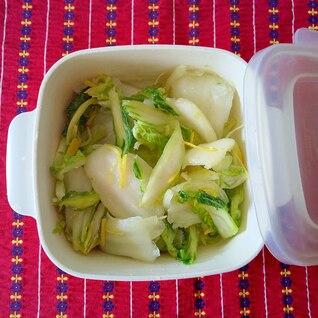 白菜の塩麹漬け