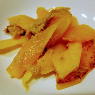 パリパリ感がやみつきコリンキーとツナのマヨ焼サラダ