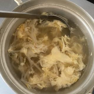 安上がり!もやしのコンソメ卵スープ