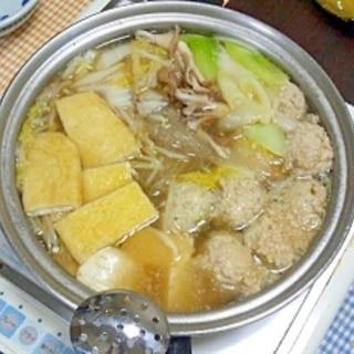 Wスープの塩ちゃんこ鍋