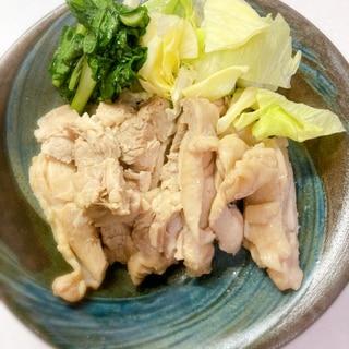 お家で作れる☆鶏もも肉で簡単サラダチキン