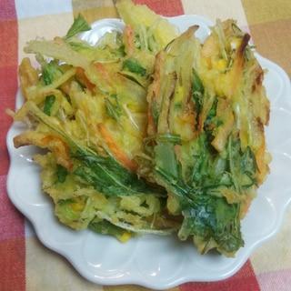 サクサク☆野菜のかき揚げ