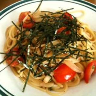 青じそ香る和風トマトスパゲティ