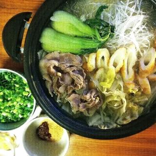 簡単で美味!台湾鍋!!翌日、胃が軽くなる?!