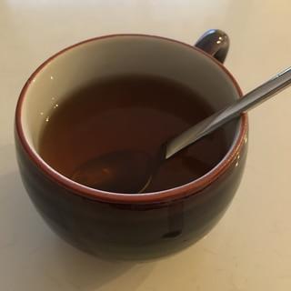 生姜入りであったか♪とろとろハニージンジャー紅茶