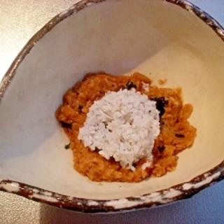 離乳食中期☆ シラスと海苔入り納豆