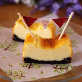 ホットケーキミックスで簡単&手軽に本格チーズケーキ