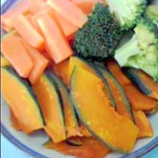 レンジで簡単&時短♪温野菜