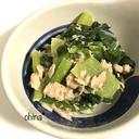 レンジで簡単❁無限小松菜❁