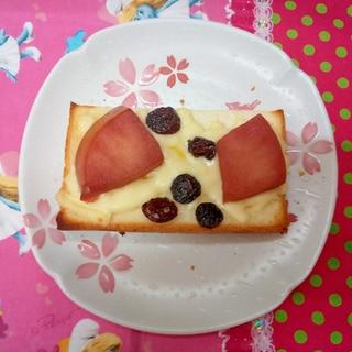 レーズン林檎トースト