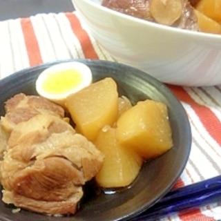 圧力鍋で簡単♪柔らかい煮豚