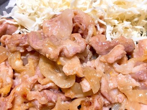 ★ホットクックレシピ★輪切り玉ねぎの豚しょうが焼き