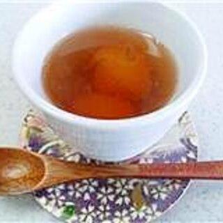 黒糖はちみつ金柑湯