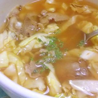 キャベツスープ(ロールキャベツ味)