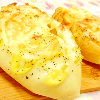 基本の米粉生地de❤パプリカとチーズの惣菜パン❤