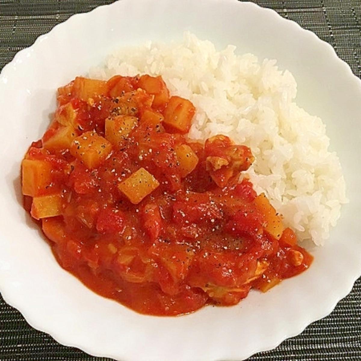 レシピ トマト カレー