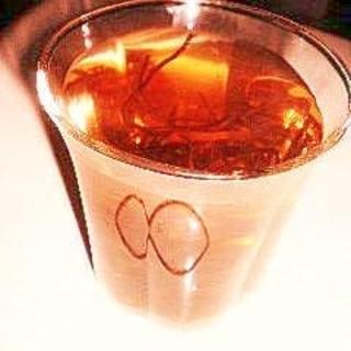 焼酎の昆布茶割り(ホット)
