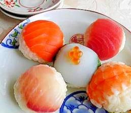 ひとくち手まり寿司