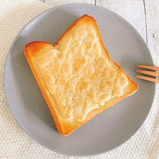 とっても簡単☆メロンパン風トースト♪
