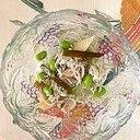 枝豆、しらす、茗荷、茎わかめ