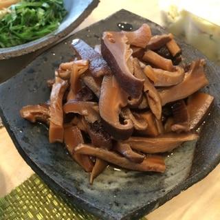 素麺の一品に!干し椎茸の甘辛煮